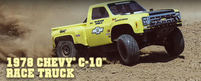 1978 Chevy C-10 Race Truck Clear Body #3510 Pro-Line Racing FREE SHIPPING!