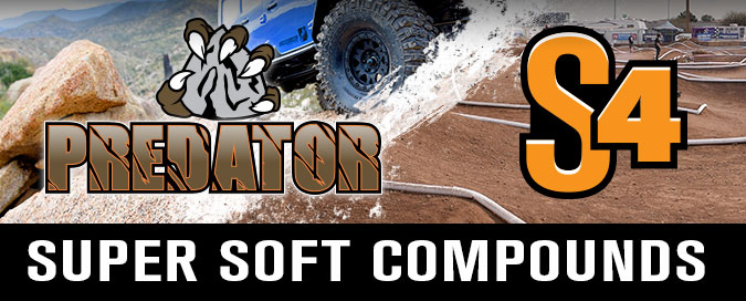 Super Soft Compounds for Crawler and 1:8 Buggy/Truck