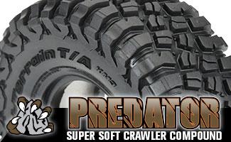 "10152 | Class 1 BFGoodrich Mud-Terrain T/A KM3 1.9"" Rock Terrain Truck Tires"