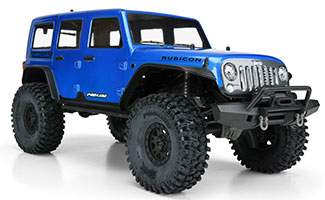 3502-13| Pre-Painted / Pre-Cut Jeep Wrangler Unlimited Rubicon (Blue) Body