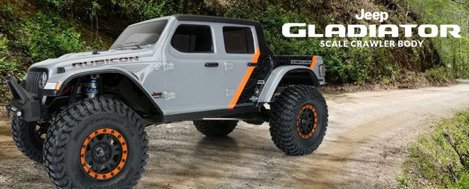 "Pro-Line Jeep Gladiator for 12.3"" WB Crawlers"