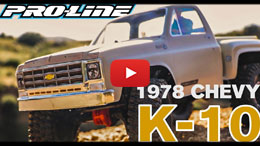 VIDEO: Pro-Line 1978 Chevy K-10 Clear Body