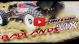 VIDEO: Pro-Line Badlands MX All Terrain 1:8 Buggy Tires