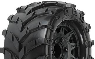 "1192-10 | Masher 2.8"" Street Tires Mounted"