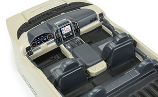3527-00 | Late Model Interior (Clear)