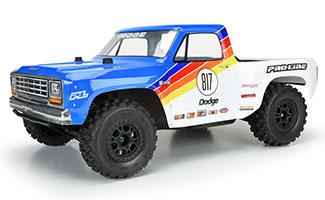 3532-00 | 1984 Dodge Ram 1500 Race Truck Clear Body