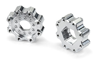 6356 | 8x32 to 17mm ZERO Offset Aluminum Hex Adapters