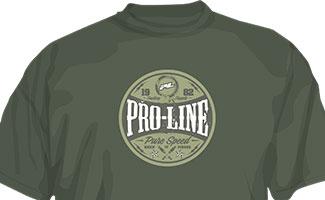 9839 | Pro-Line Hot Rod Green T-Shirt