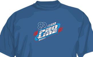 9840 | Pro-Line Energy Blue T-Shirt